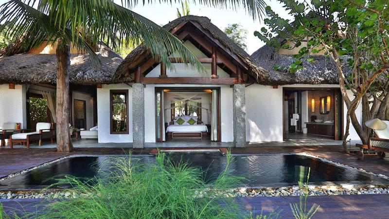 Resort L'alya Ninh Vân được thiết kế gần gũi với thiên nhiên