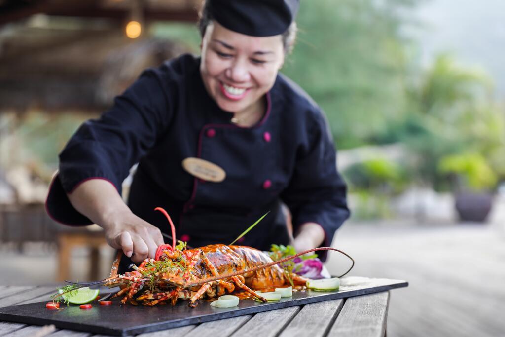 Các món ăn được các đầu bếp chuyên nghiệp chế biến