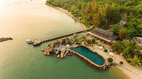 Toàn cảnh Resort L'Alya Ninh Vân Bay Nha Trang