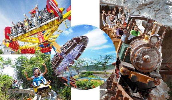 Top 5 trò chơi cảm giác mạnh tại Vinpearl Land Nha Trang