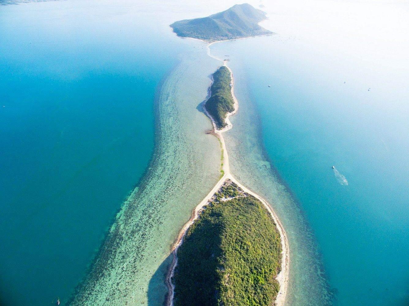 Toàn cảnh đảo Điệp Sơn Nha Trang